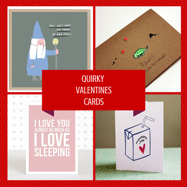 Quirky Valentines Cards