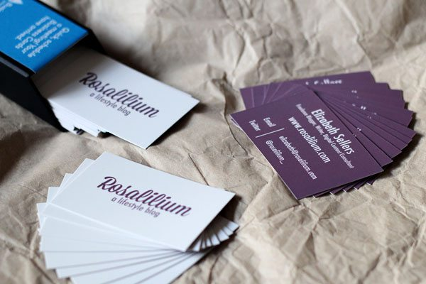 Rosalilium Moo Business Cards