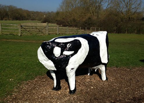 Concrete Cow Milton Keynes