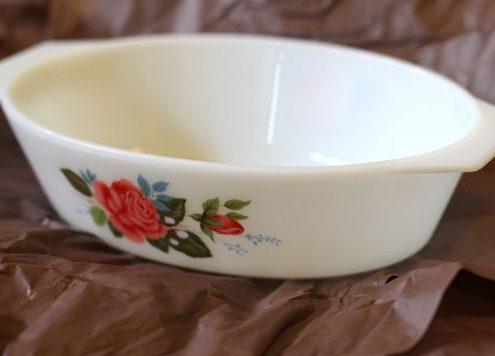 Floral Pyrex Dish