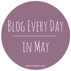 Blog Every Day in May badge
