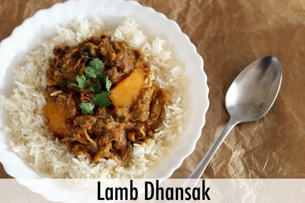 Lamb Dhansak Recipe