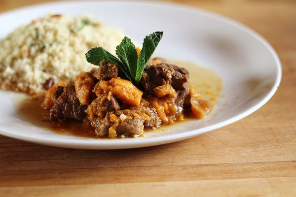 Moroccan Lamb With Couscous