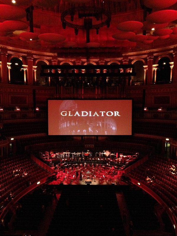 Gladiator at the Royal Albert Hall