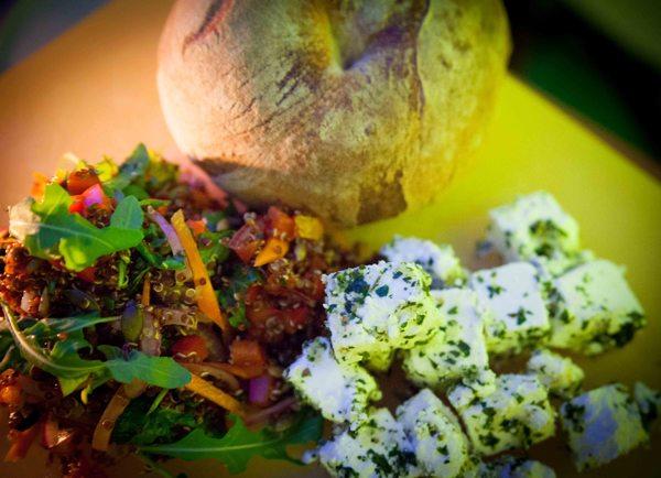 Rainbow Salad with Feta Recipe
