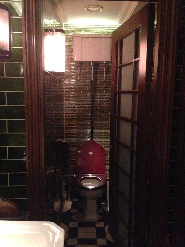 Toilets at Social Eating House