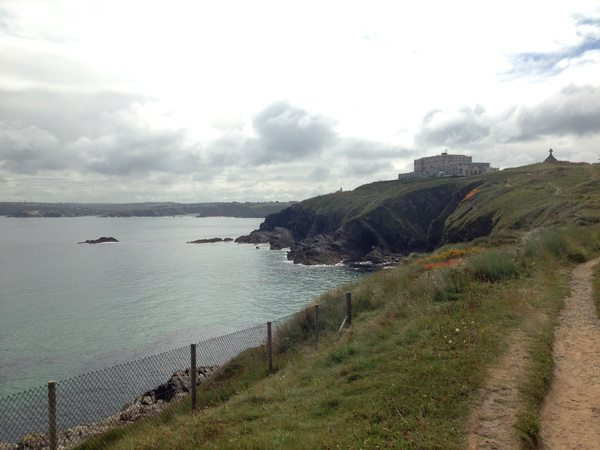 the view in Newquay