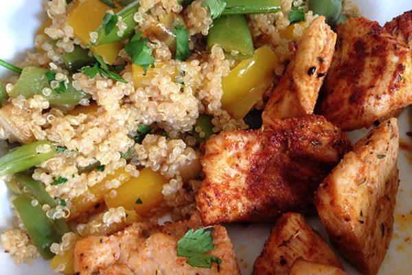 Cajun Chicken and Quinoa