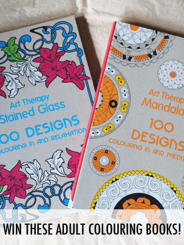 Giveaway | Win Art Therapy Adult Colouring Books
