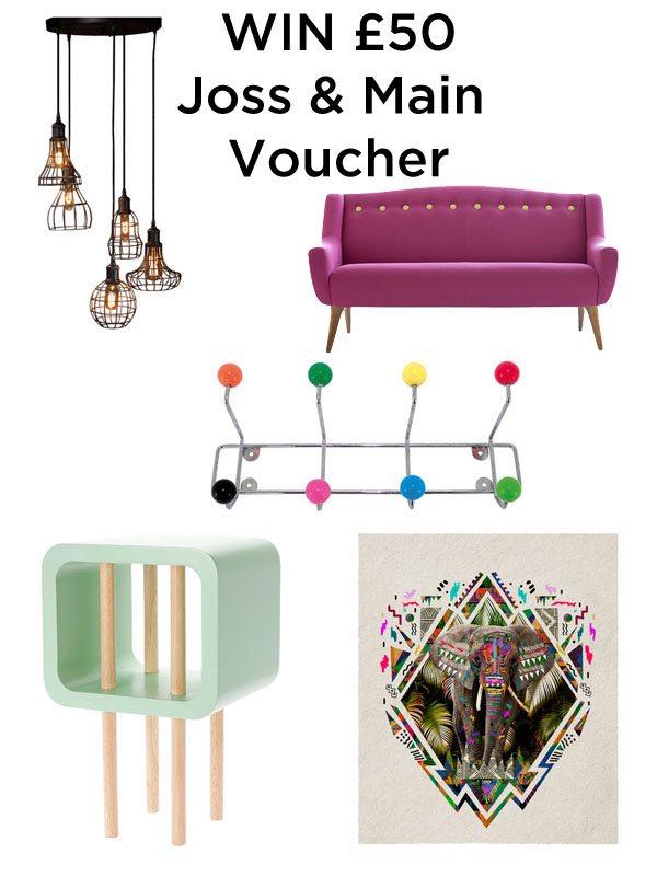 Win £50 Joss & Main Voucher