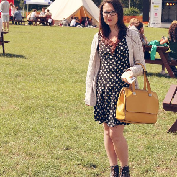 what I wore to Blogstock