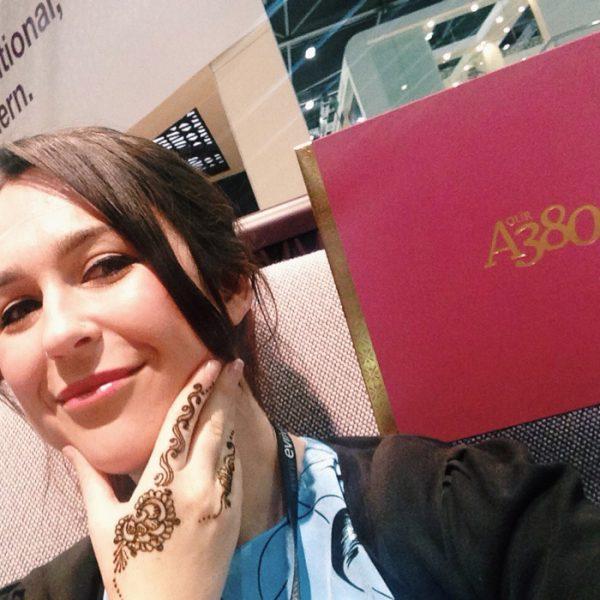 A380Selfie