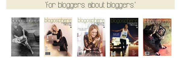 5 issues of blogosphere magazine
