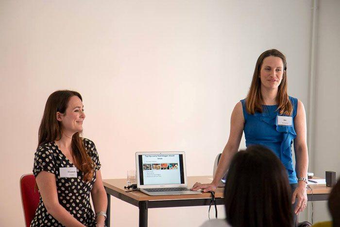 Blogcamp Elizabeth and Mel