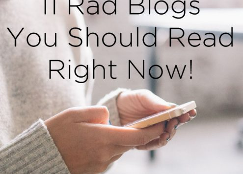 11 Rad Blogs You Should Read Right Now