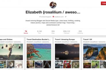Elizabeth Rosalilium Pinterest
