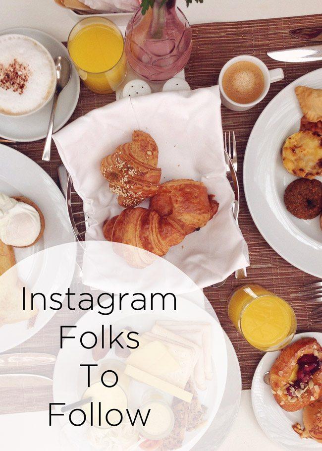 Instagram Folk To Follow 2015