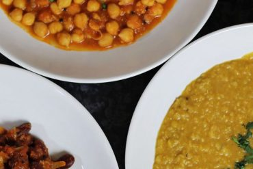 Three Indian Vegetarian Vegan Curries