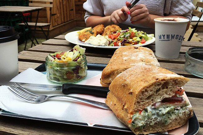 Coffee and Lunch in Walthamstow