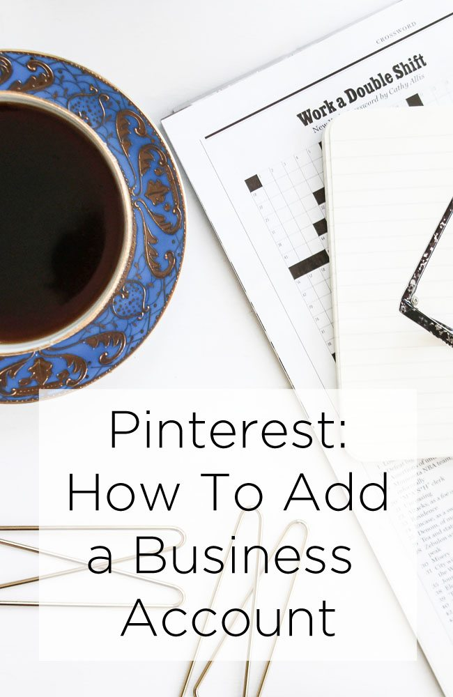 How To Add a Business Account on Pinterest