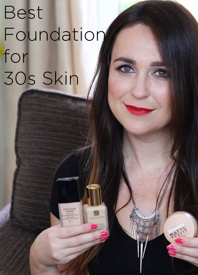 The Best Foundation for 30s skin