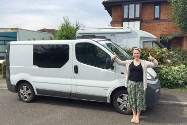 The day we bought our campervan