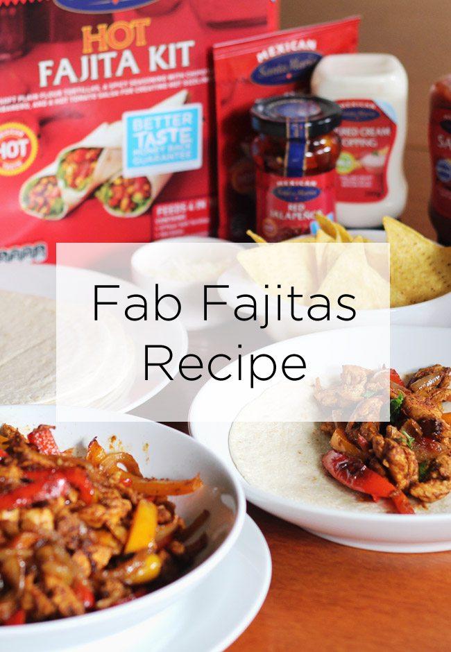 Fab Fajitas Recipe