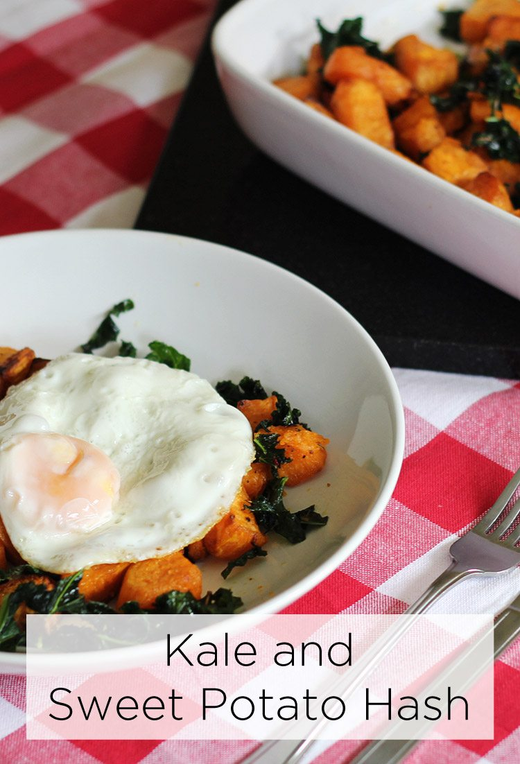 Kale and Sweet Potato Hash Recipe