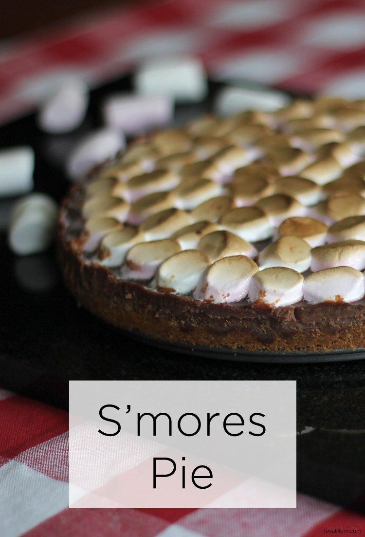 recipe for smores pie