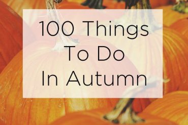 100 things to do in autumn list