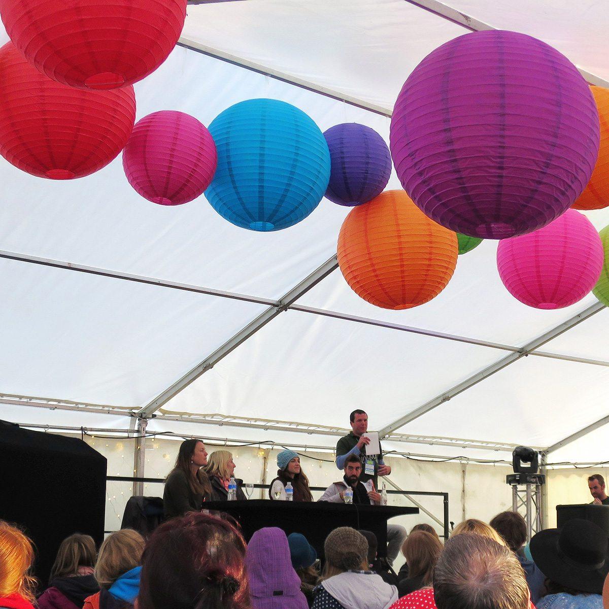 Blogstock tent