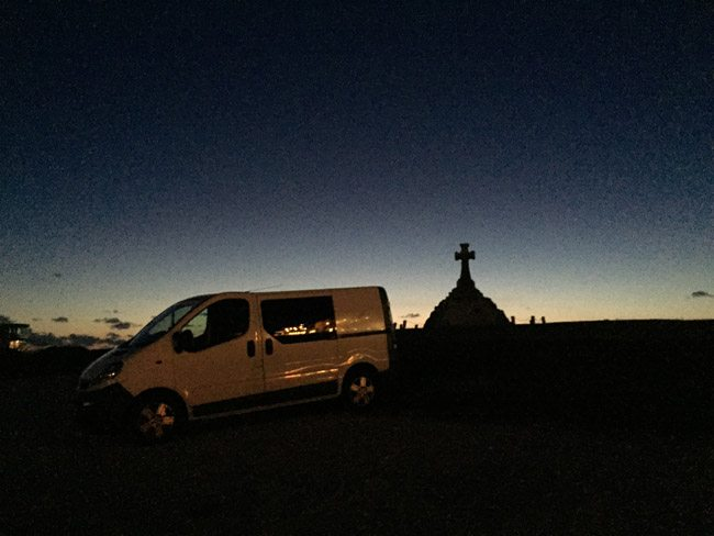 Deborah The Van at sunset