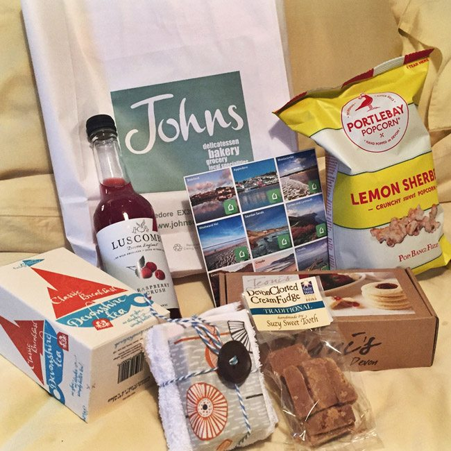 HolidayCottages Devon Goody Bag