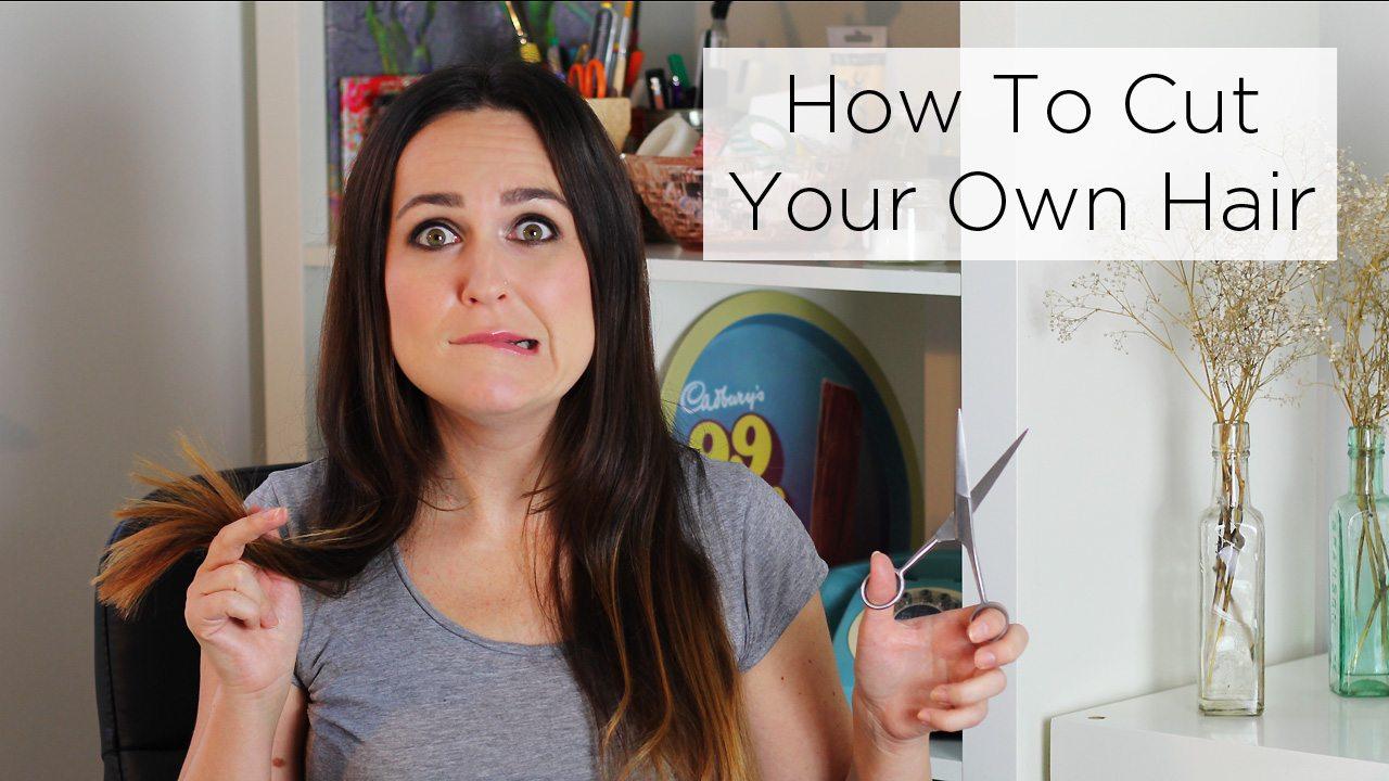How To Cut Hair : How To Cut Your Own Hair Rosalilium