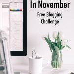 blog every day in november