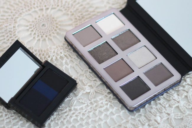 Greige Eyeshadow and Eyeliner Palettes