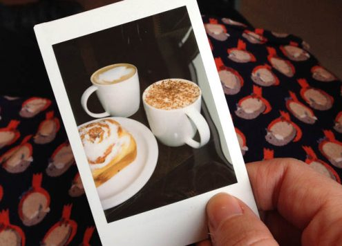 Instax photograph