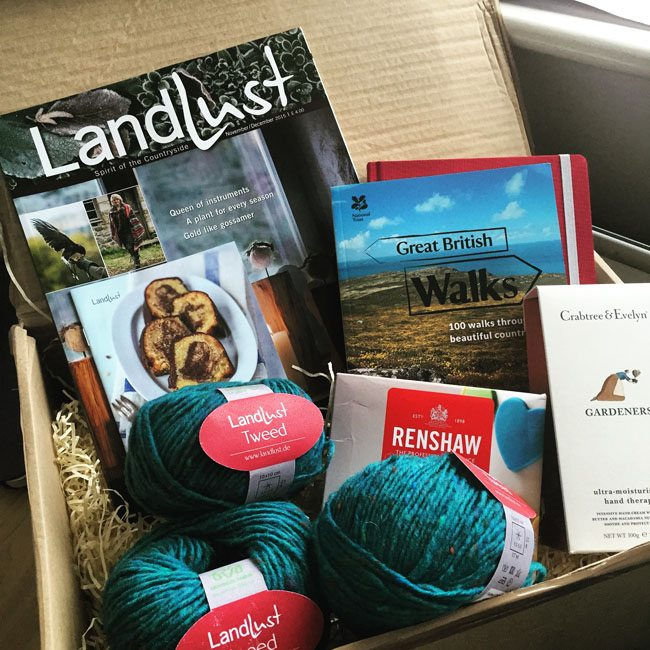 Landlust Magazine Launch care package