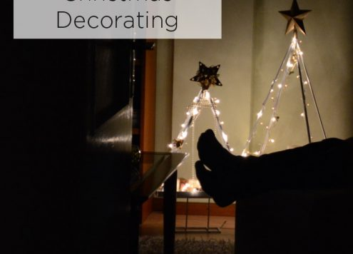 how to prepare the home for christmas decorating