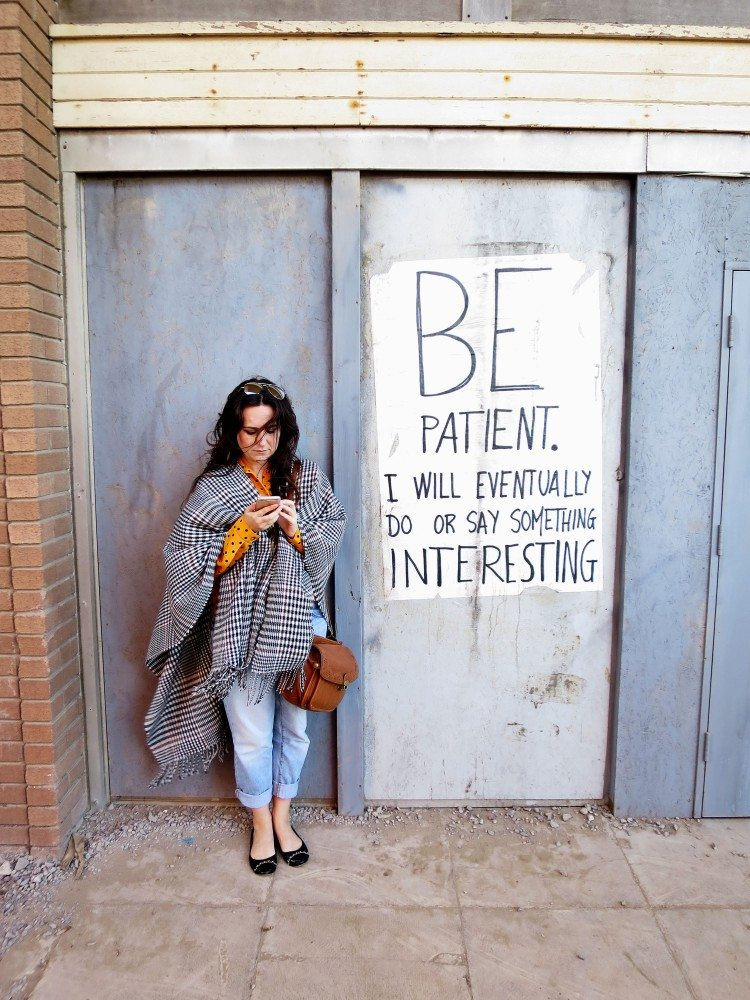 Be-patient-at-Dismaland-Awesome-Wave-750x1000