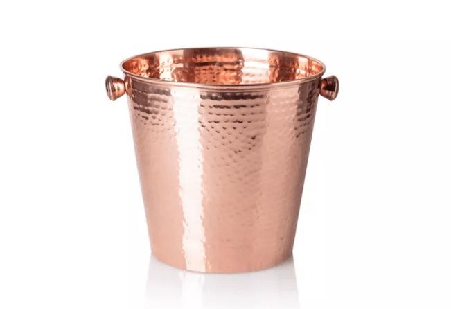 copper champagne bucket