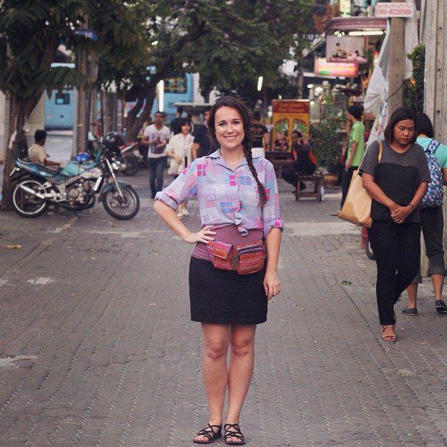 living in Bangkok