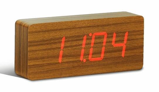 teak clock