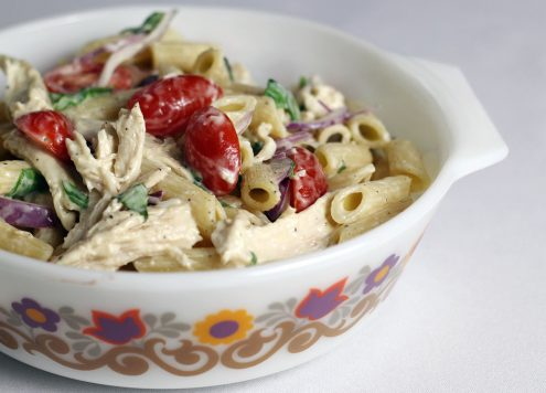 turkey pasta salad
