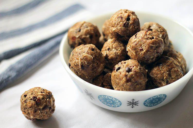 Easy no bake energy balls recipe