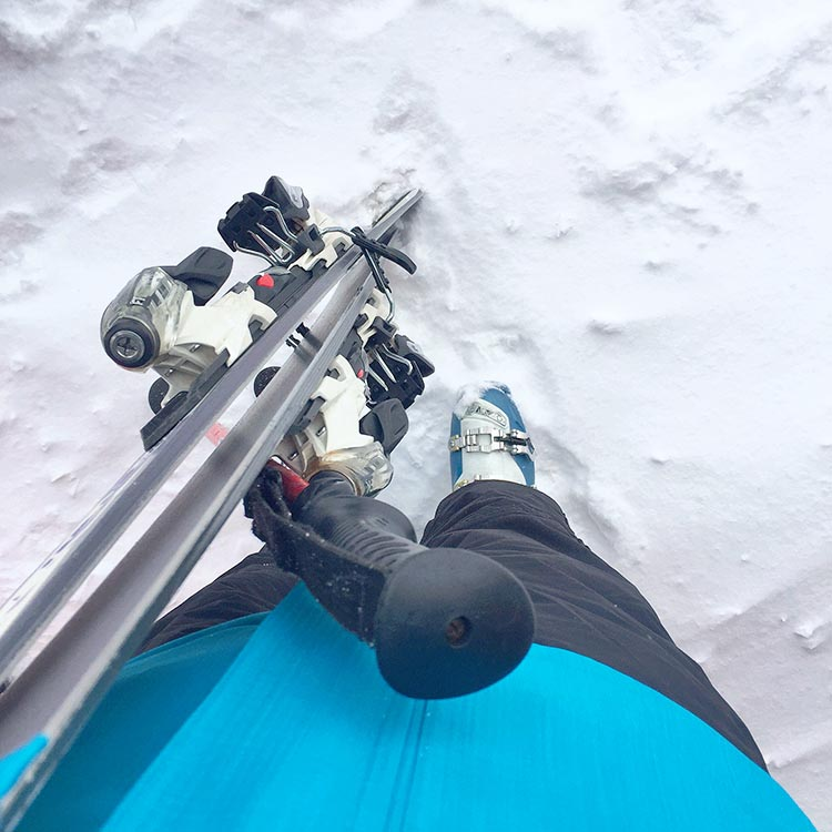 new to skiing