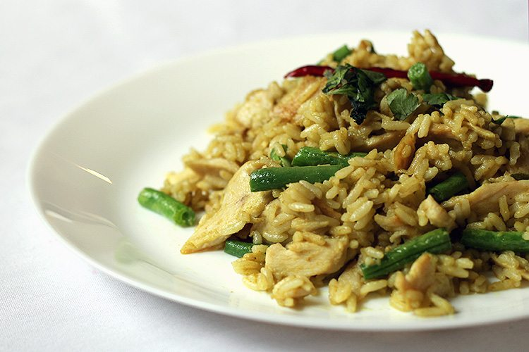Thai Green Curry Fried Rice Recipe