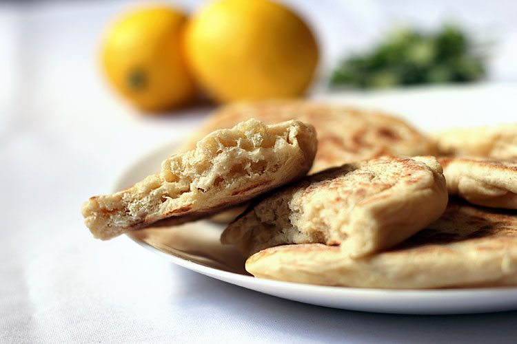 Homemade Naan Bread with Tefal Cuisine Companion