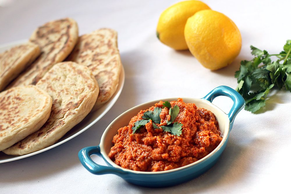 Red Pepper Houmous Recipe