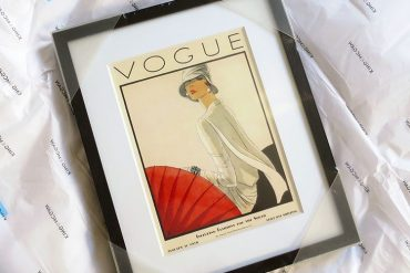 Vogue 100 King and McGaw print